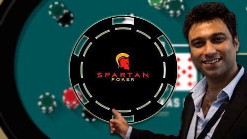 Spartan poker game