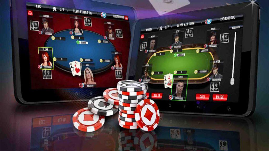 Gambling in poker
