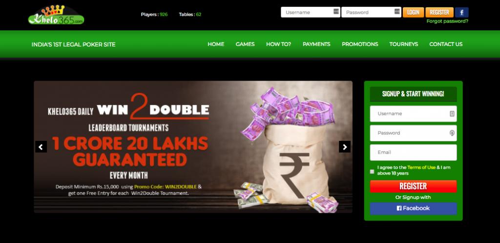 Khelo 365 site