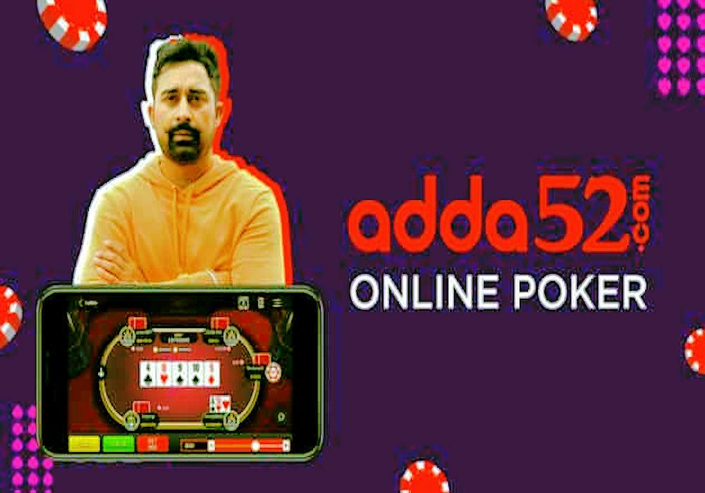 Adda52 poker site