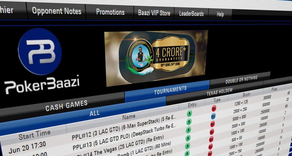 register at PokerBaazi
